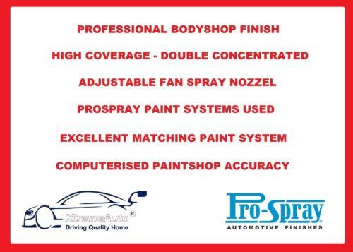 Toyota Yaris MK1 Car Body Pintura en Aerosol retocar arañazo reparación Uñas Mix No2