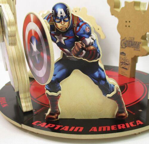 Set of 6 Lowe/'s Build and Grow Marvel Avengers Hulk Iron Man Falcon Thor A-21