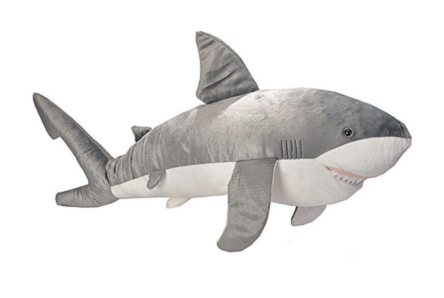White Shark Jumbo 100 cm Plush Animal Stuffed Animal Wild Republic
