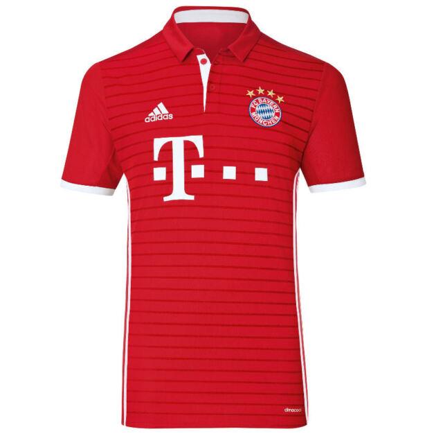 Adidas Uomini A Bayern München 2016 2017 A Uomini Casa Nel New Jersey Climacool Calcio a8f15d