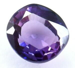 5.70 Ct Natural Purple Sapphire Cushion Cut Certified Sparkling AAA+ Quality