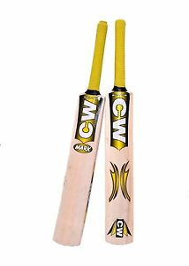 Junior-MARK-Cricket-Bat-Kashmir-Willow-Yellow-Size-5-Free-Shipping-For-9-10-Yr