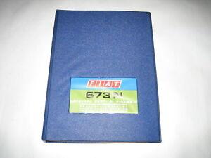 Fiat Catalogue de Pièces de Rechange 619 N1