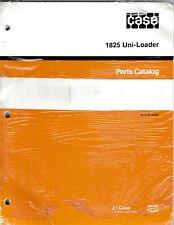 Case 1825 Uni Loader Skid Steer Loader Parts Manual