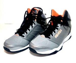 Details about AND1 Men's High Top Lace Up Gray Athletic Basketball  Sneakers/Shoes, Size 9 5m