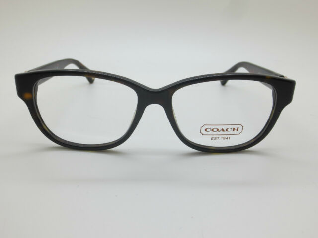 a4b166e88542 NEW COACH HC 6038 Amara 5001 Dark Tortoise 51mm RX Eyeglasses w/ Case