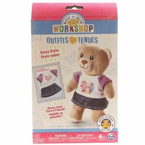 Build-A-Bear-Workshop-Sassy-Style-Toy-Doll-Outfit-Stuffed-Animal-Dress-Accessory