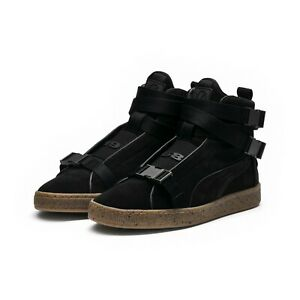reputable site 939a1 2a27a Details about Puma x XO Suede Classic Sneakers Designed by The Weeknd  (Men's 9.5 Black)