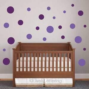 Image Is Loading POLKA DOT Wall Decals Circle Wall Decals Nursery