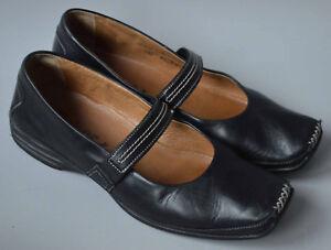 Ladies Black Leather Pumps Sport 5 4 Chaussures Gabor Uk rqFCwExr