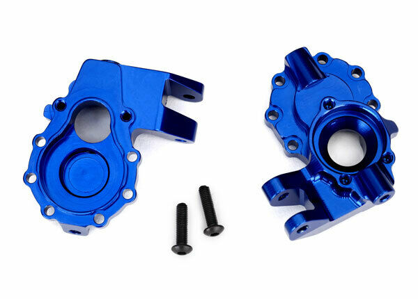 TRAXXAS 8252X Box Portals Interior Aluminium bluee Left + Right