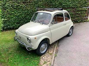1969 Fiat 500L - Stunning 'survivor' example, Part of a private collection.
