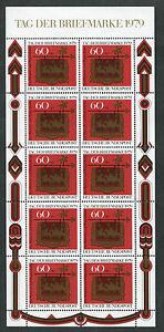 Bund-KB-1023-sauber-postfrisch-Kleinbogen-10-x-BRD-Tag-der-Briefmarke-1979-MNH