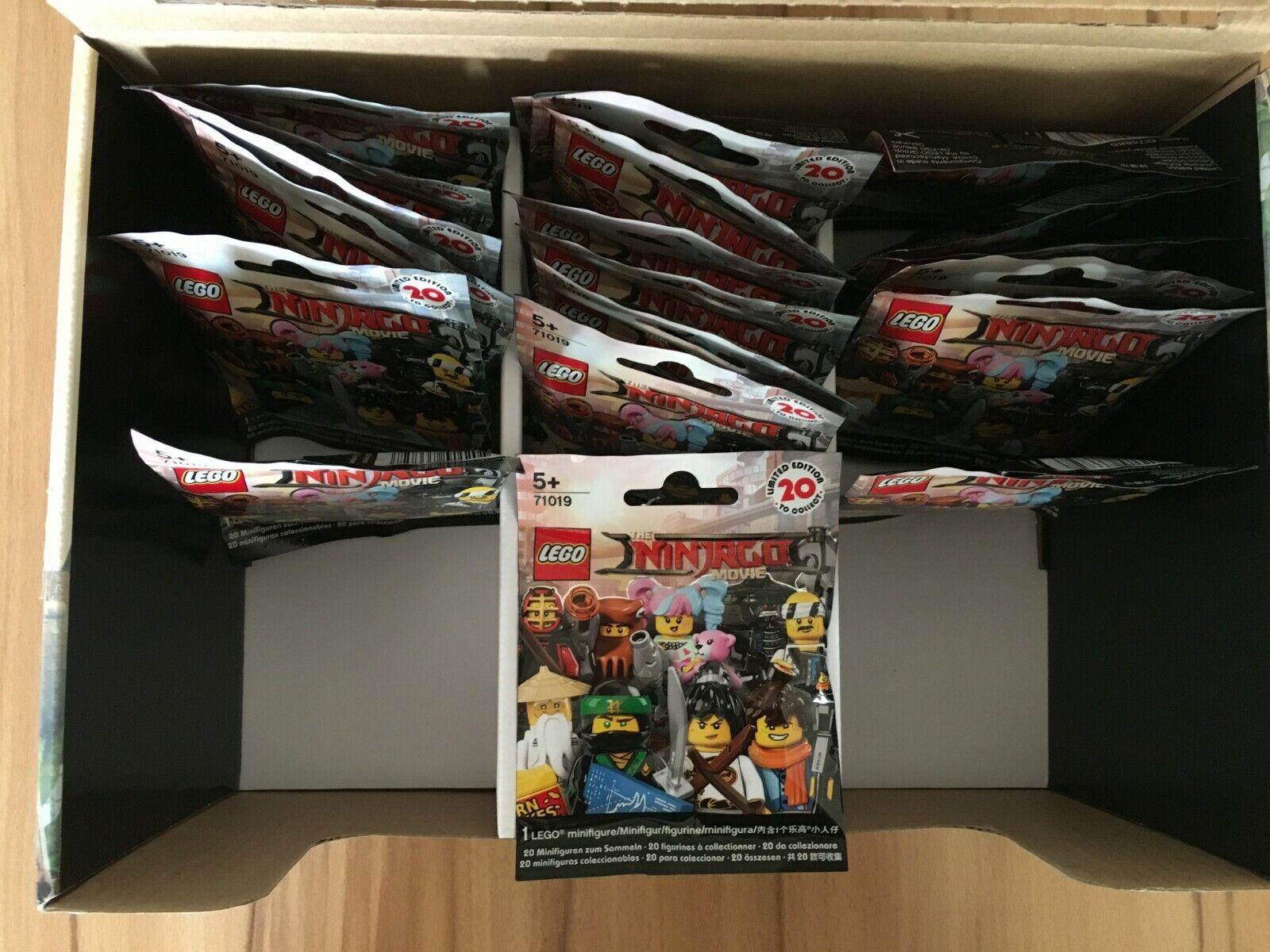 LEGO Ninjago Movie Minifiguren - 71019 71019 71019 - 20 Stück - NEU und OVP 1247a7