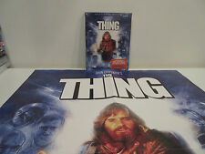The Thing (Blu-ray Disc, Collectors Edition) Scream Factory W/Slipcover + Poster