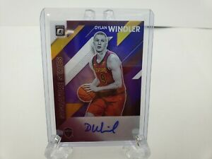 DYLAN-WINDLER-2019-20-DONRUSS-OPTIC-SIGNATURE-SERIES-PURPLE-PRIZM-AUTO
