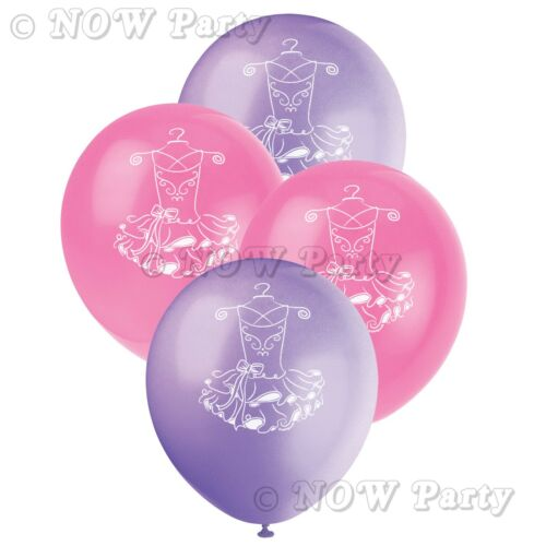 Ballerina Ballet Girls Pink Party Supplies Tableware /& Decorations