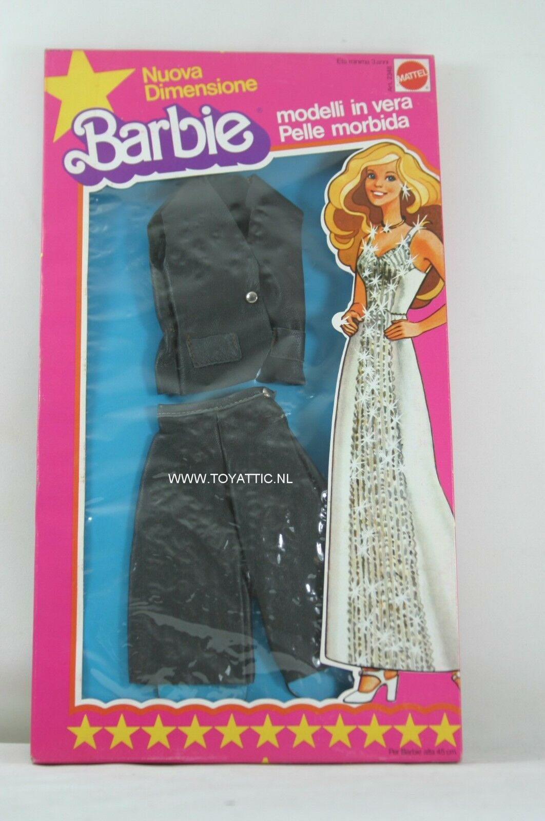 Barbie super star superstar superGröße fashion ITALIAN version (2) from 1977 NRFB