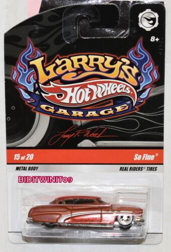 HOT WHEELS LARRY/'S GARAGE SO FINE #15//20 BROWN