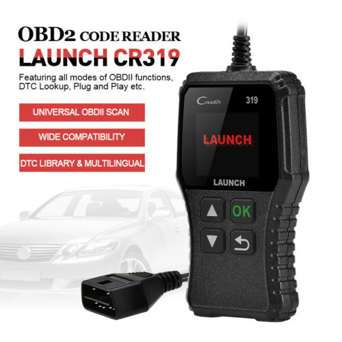 Automotive OBD2 EOBD Code Reader Scan Tool Car Diagnostic Engine Check I//M CR319