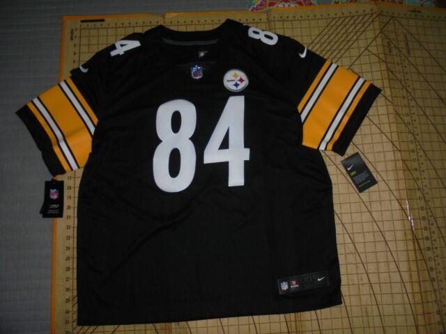 pretty nice 73e2f 222c8 Mens 2xlarge Nike NFL Steelers #84 Antonio Brown Stitched ...