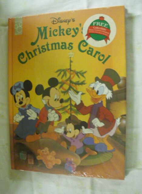 Mickey's Christmas Carol by Mouse Works Staff (1995, Hardcover)
