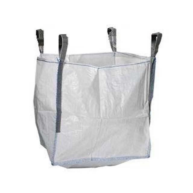 1 Ton  Bulk Bag Builders Rubble Sack x 20 FIBC Tonne Jumbo Garden Waste Storage