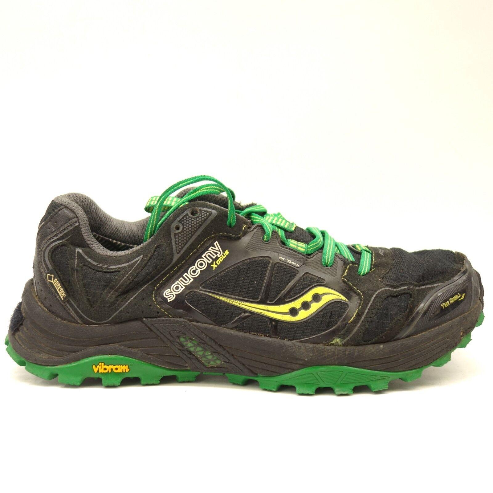 Saucony Xodus Gore-Tex Senderismo Running Entrenamiento Zapatos Talla Us 8
