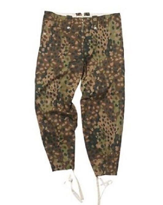 Campo Wehrmacht pantalones German Army erbsentarn Pants talla 50