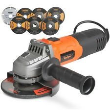 "VonHaus 125mm 900W (5"") Angle Grinder with 7 Disc Accessory Kit"