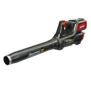 Snapper Cordless Leaf Blower Battery Powered Handheld 130 MPH 550 CFM 82 Volt