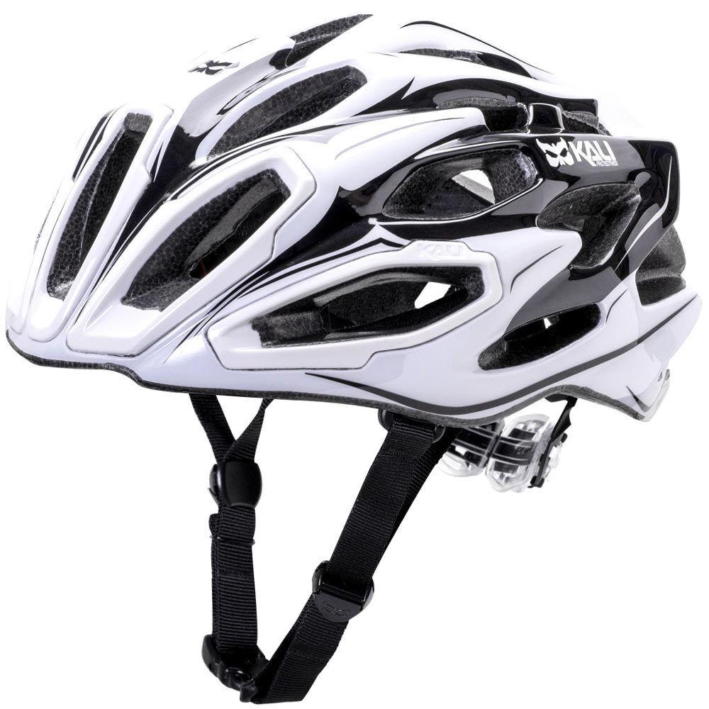 Kali Maraka RD Zone White Bike X Country Trail Enduro Helmet M L CLOSEOUT