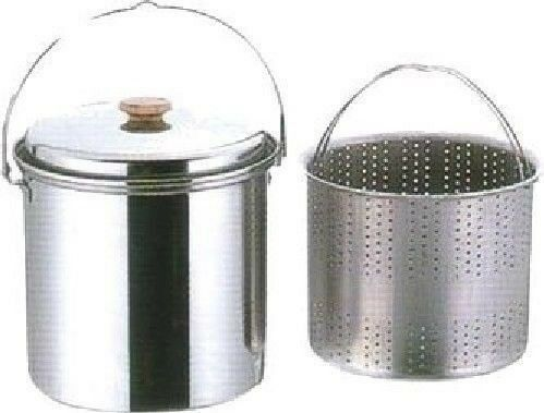 CAPTAIN CAPTAIN CAPTAIN STAG M-8145 Stainless Steel Camping Pasta Pot 20cm Outdoor Cookware NEW 23652d
