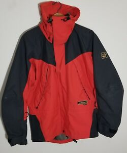Details about Jack wolfskin gore tex Coat Jacket Orange Size 6 Asia M Eur S Womens