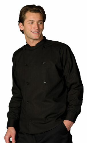 1351 Edwards Garment Adult Double Breasted Bistro Long Sleeve Server Shirt
