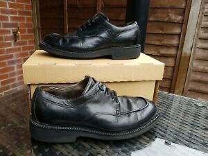 Timberland Wide Fit Black Leather Mens