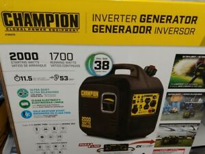 Champion-Power-Equipment-100478-Portable-2000-Watt-Inverter-Generator-Brand-New