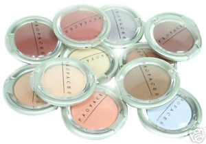 PROFACES ASSORTED EYESHADOWS & CONCEALERS, LOT OF 12PCS