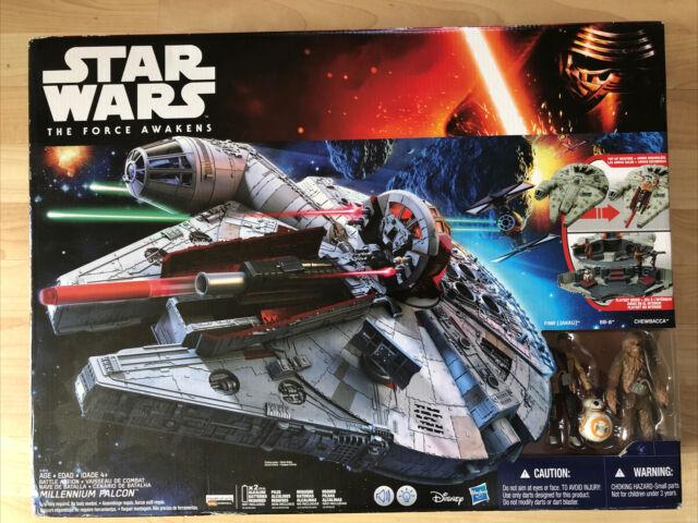 Star wars the force réveille battle action millenium falcon ** nerf ** sons//lumières