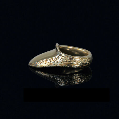 20-22mm Brass Thumb Ring Finger Guard Archery Bow Shooting Protector Gear