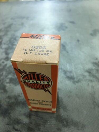 JW MILLER RF CHOKE 6306 10 mH 125 ma
