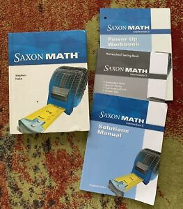 saxon math intermediate 5 | eBay