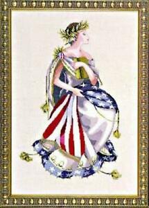 Mirabilia Cross Stitch Pattern Only MD64 Queen of Freedom