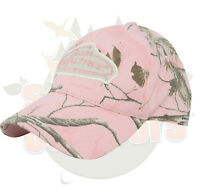 Team Realtree Ladies Cap Hat Ap Pink Camo
