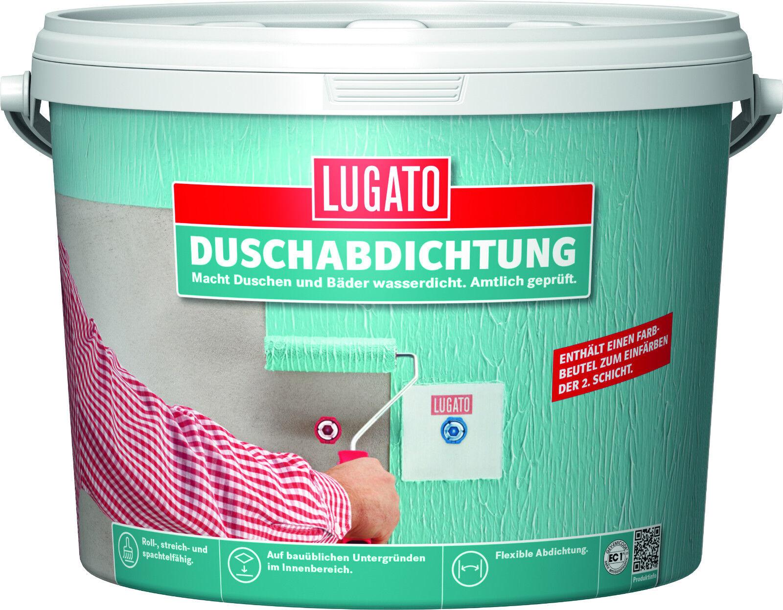 Lugato Duschabdichtung mintgrün 15 kg