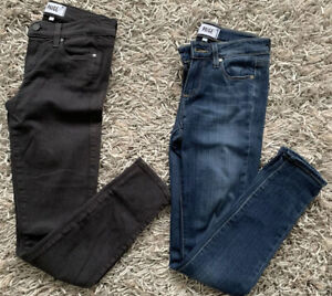 Paige-Jeans-Verdugo-Ankle-Blue-Gray-Size-25-Lot-of-2