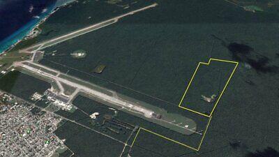 Remato 72 Hectareas Propiedad en Isla Cozumel junto al Aeropuerto Int Uso de suelo Hab Oportunidad