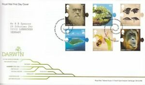 United-Kingdom-2707-12-Charles-Darwin-FDC