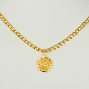 Coin Necklace Pendant Middle East Arabic Jewelry Curb