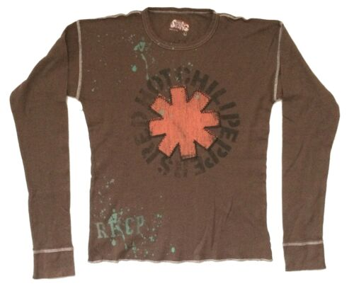 Red Hot Chili Peppers Asterisk Logo Swag Premium Thermal Shirt New Official